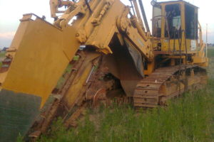 Stenbergen Täckdikare 25 ton